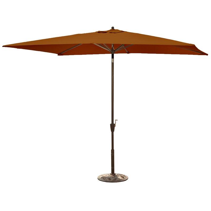 96af5344473 Island Umbrella Adriatic 10' X 6.5' Rectangular Market Umbrella & Reviews |  Wayfair