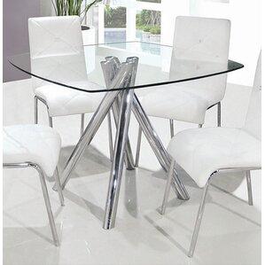 Sophie Mirrored Dining Table   Wayfair