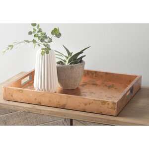 Rectangle Metal Decorative Tray