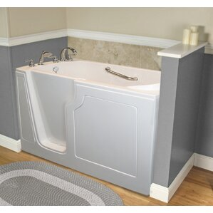 Dignity 48  x 28  Whirlpool Jetted Walk In BathtubWalk In Tubs You ll Love   Wayfair. Walk In Bathtub. Home Design Ideas