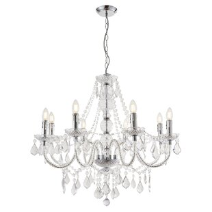 Modern contemporary chandeliers wayfair 308 classy candle style chandelier aloadofball Choice Image