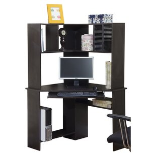 Friedman Corner Desk With Hutch