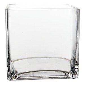 Glass Cube Vase (Set of 12)