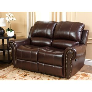 Darby Home Co Barnsdale 2 Piece Leather Living Room Set Image