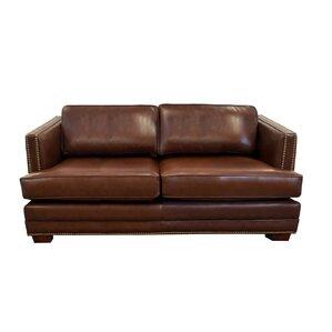 Millbury Genuine Top Grain Leather Sofa by Westland and Birch