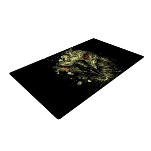 BarmalisiRTB Eagle Black/Yellow Area Rug