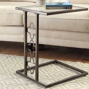 Denton Quatrefoil End Table