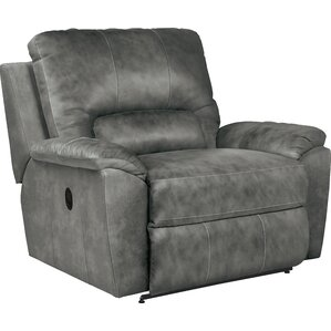 Charger La-Z-Time® Leather Recliner  sc 1 st  Wayfair & Oversized Recliners You\u0027ll Love | Wayfair islam-shia.org
