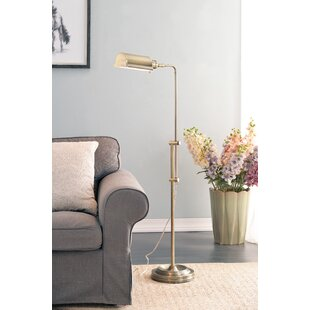 Rectangle shaped task floor lamps youll love wayfair luxembourg 50 task floor lamp aloadofball Image collections