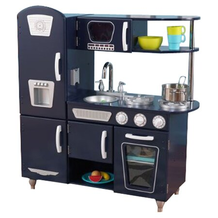 Kidkraft Retro Kitchen kidkraft vintage kitchen & reviews | wayfair