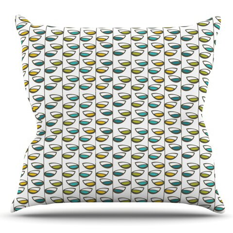 East Urban Home Spring Stem by Julie Hamilton Outdoor Throw Pillow