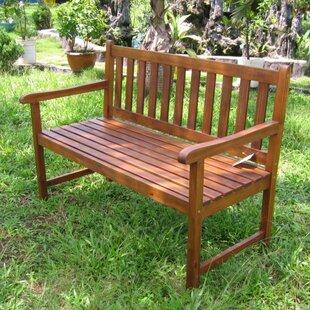 Backyard Bench Seating outdoor benches you'll love | wayfair