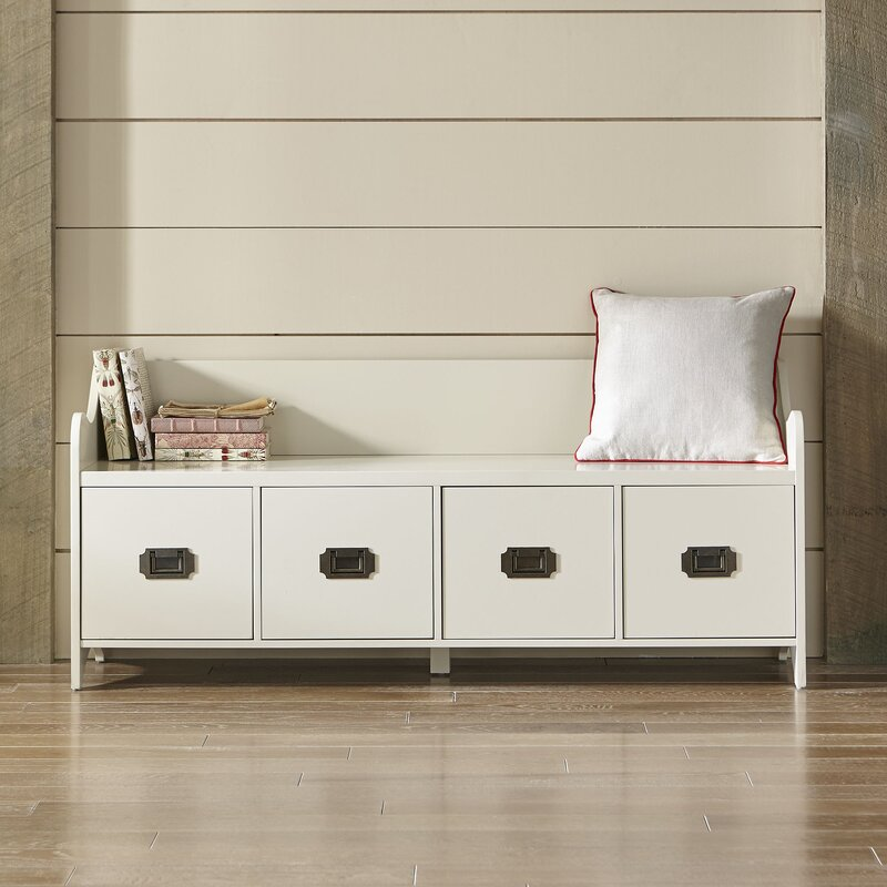 Edwards 4 Drawer Storage Bench