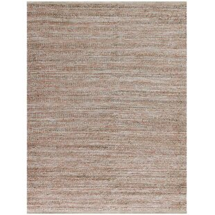 Lantz Rectangle Flat Weave Brown Area Rug