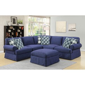Golden Valley Modular Sectional by August Grove