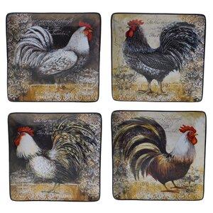 Vintage Rooster 10.25