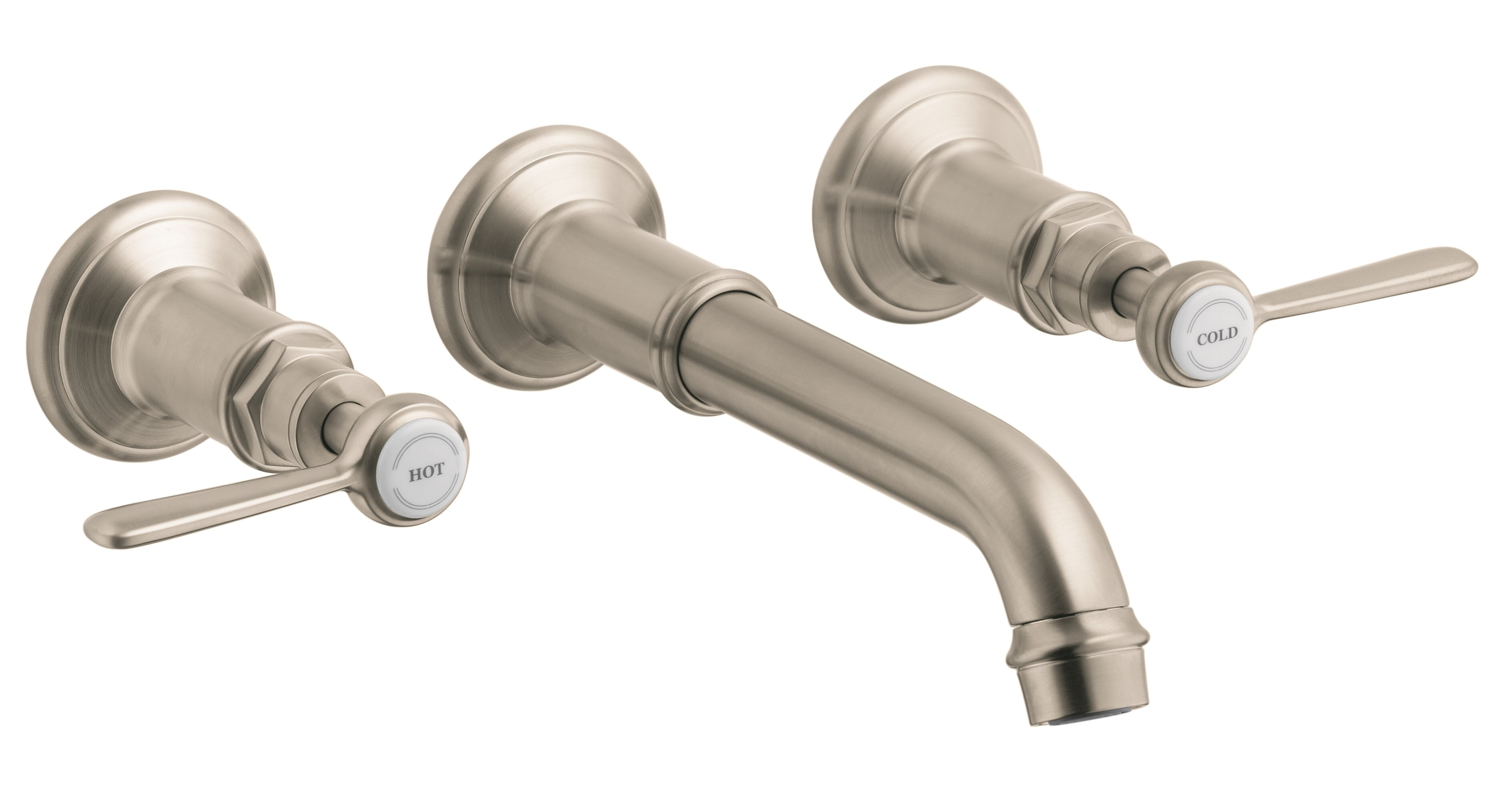 Axor Axor Montreux Two Handle Wall Mounted Sink Faucet | Wayfair