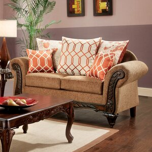 Pascal Transitional Loveseat by Hokku Designs