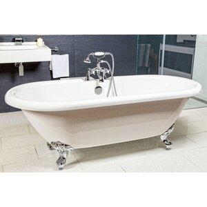 175cm x 80cm Freestanding Soaking Bathtub