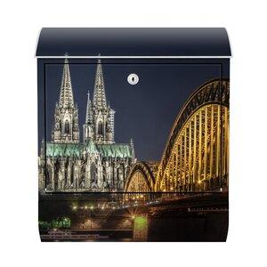 Briefkasten Kölner Dom mit Zeitungsfach