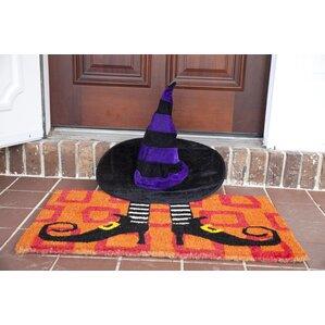 Handmade Wicked Witch Shoes Doormat