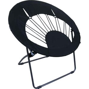 Bungee Chair Folding Dorm Lounge Chair