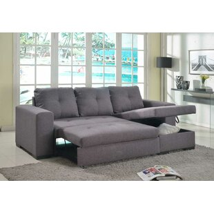 Genovese Corner Sofa Bed By Wrought Studio