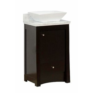 Transitional 19″ Single Bathroom Vanity Base