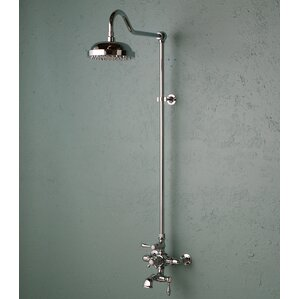 Attractive Thermostatic Exposed Shower Set With Lever Handle