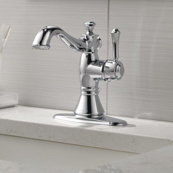 cassidy single hole bathroom faucet with drain assembly - Delta Cassidy Bathroom Faucet