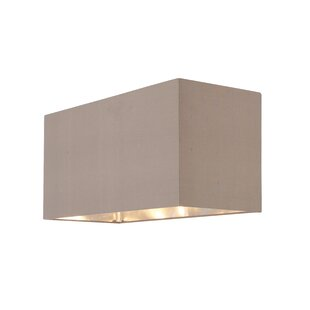 Table floor lamp shades youll love buy online wayfair cassier silk rectangular lamp shade aloadofball Image collections