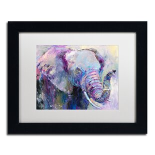 U0027Blue Elephantu0027 Print On Canvas