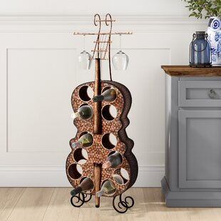 Follansbee 12 Bottle Floor Wine Rack