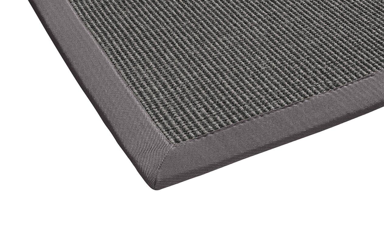 laurel foundry sisal teppich retta in platingrau bewertungen. Black Bedroom Furniture Sets. Home Design Ideas