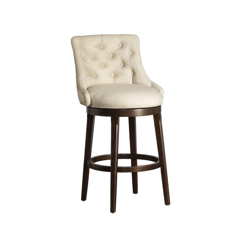 Daniel 25 Swivel Bar Stool With Cushion