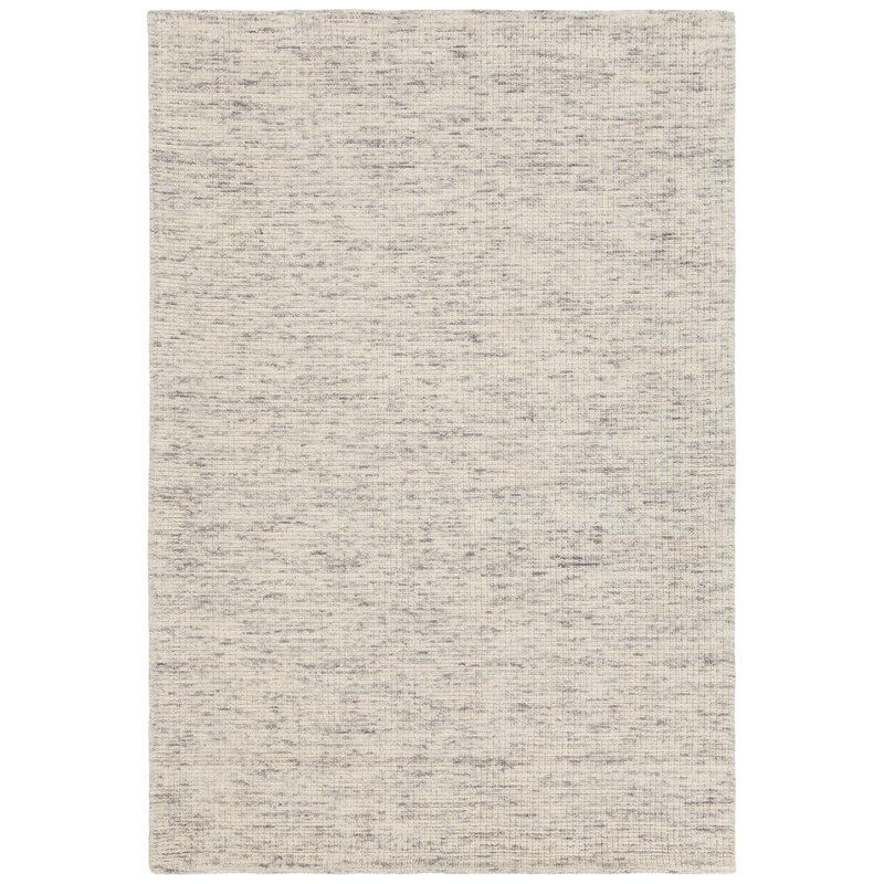 Rosecliff Heights Cunningham Hand-Woven Ivory Area Rug