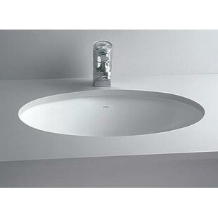 undermount bathroom sink oval.  Bathroom Vitreous China Oval Undermount Bathroom Sink With Overflow With L