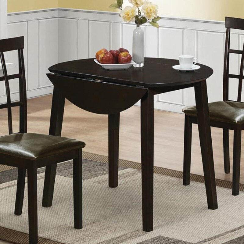 Charlton Home Drop Leaf Dining Table Reviews Wayfair