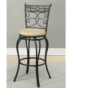 Giunta Beautifying Metal 24 Swivel Bar Stool (Set of 2)