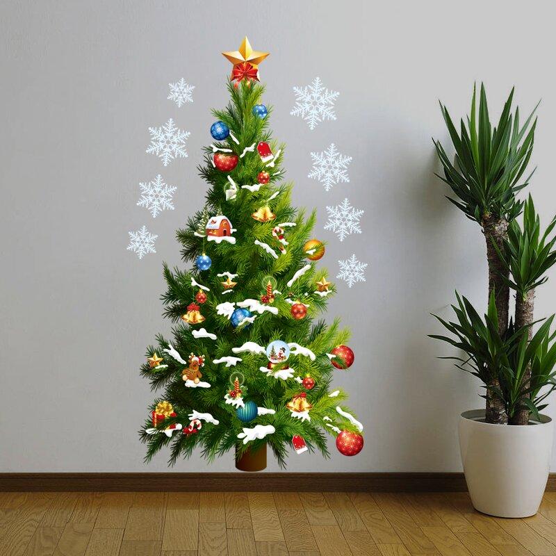Wall Christmas Tree Wall Decal
