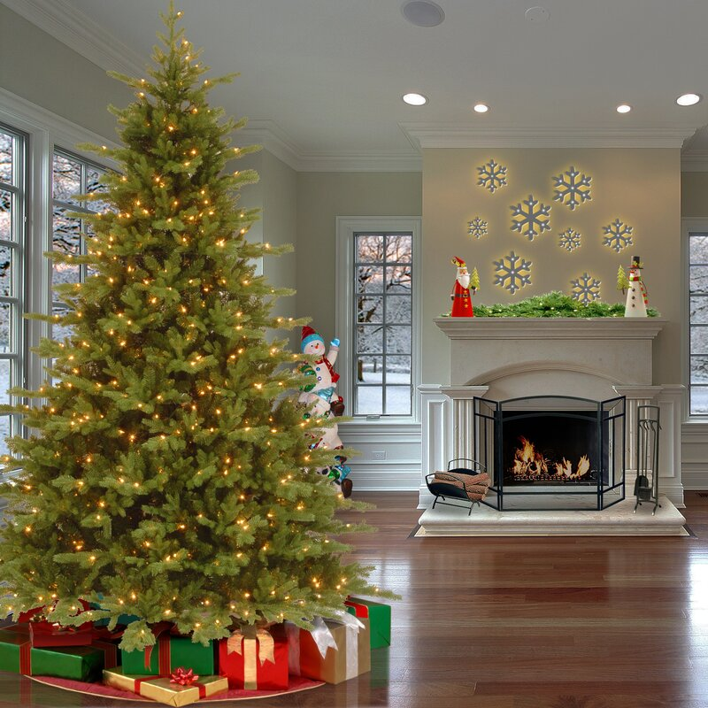 Artificial Christmas Tree Warehouse: The Holiday Aisle Vienna PowerConnect™ 7.5' Green Fir