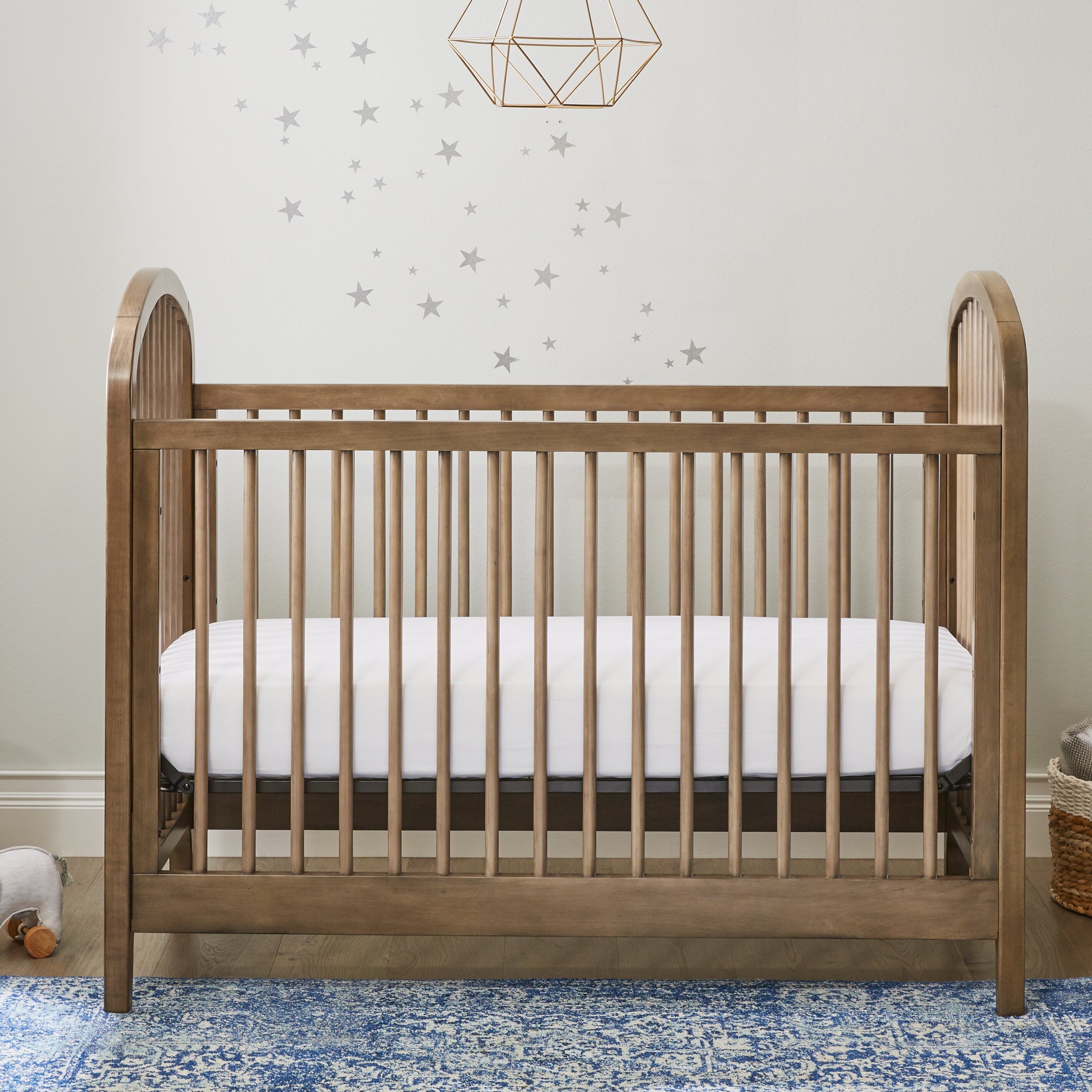 811bc8f786 Kolcraft Elston 3-in-1 Convertible Crib