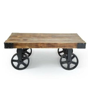 Kajsa Utility Cart Coffee Table by 17 Stories