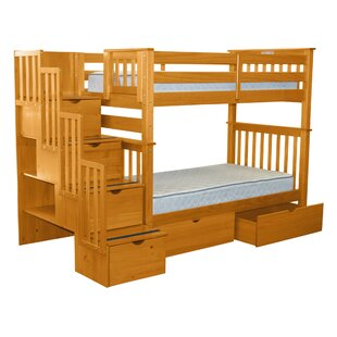 Twin Over Twin With Stairs Wayfair