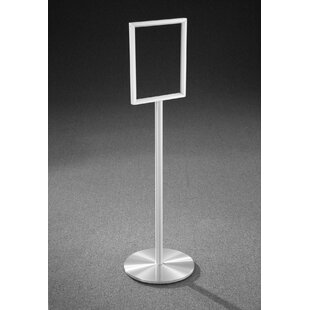 Card Holder & Note Holder A3 Adjustable Pedestal Sign Holder Floor Stands Rack Black Acrylic Frames Advertising Banner Photo Menu Literature Display Frame Clear And Distinctive