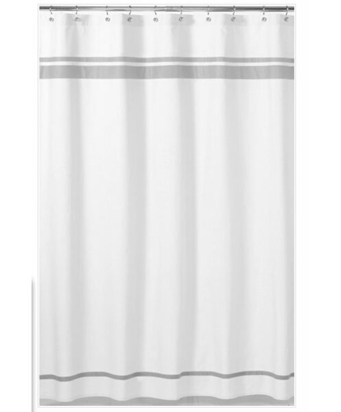 Hotel Gray Shower Curtain