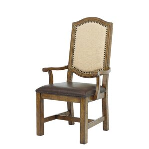 Gilcrest Wide Frame Arm Chair by Loon Peak