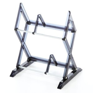 Symple Stuff 2 Tier Multimedia Storage Rack Image