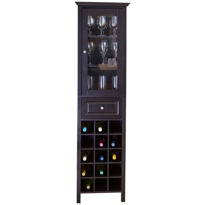 Burley 15 Bottle Floor Wine Cabinet