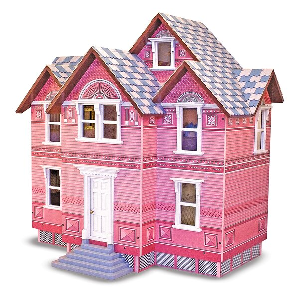 Melissa Doug Victorian Dollhouse Reviews Wayfair Mesmerizing Make Your Own Barbie Furniture Property